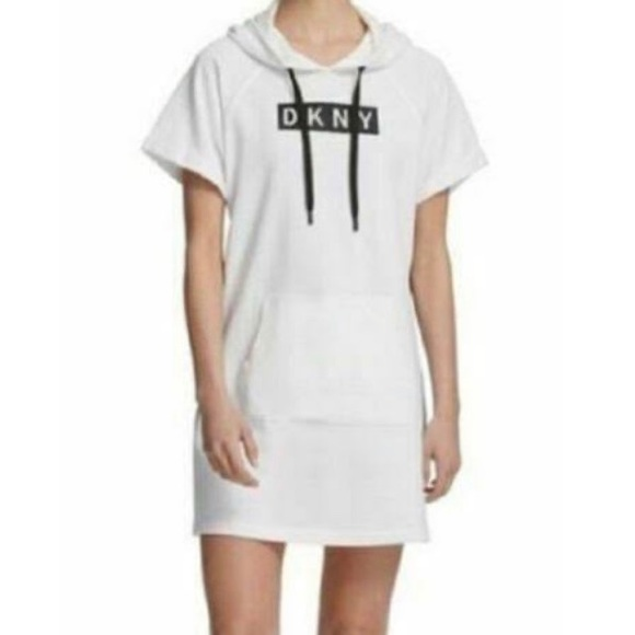 Brand new with tags. DKNY Sport hoody dress